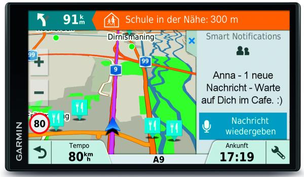 """Garmin DRIVE Smart 61 LMT-D CE PKW Navi Mitteleuropa 6,95"""" Touchscreen Bluetooth"""