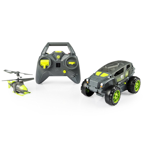Spin Master Air Hogs Shadow Launcher 2 Fahrzeuge Geländewagen 2-Kanal-Gyrokopter