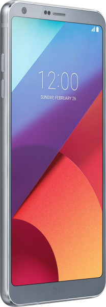 "LG G6 silber LTE Android Smartphone ohne Simlock 5,7"" Display 32GB Speicher"