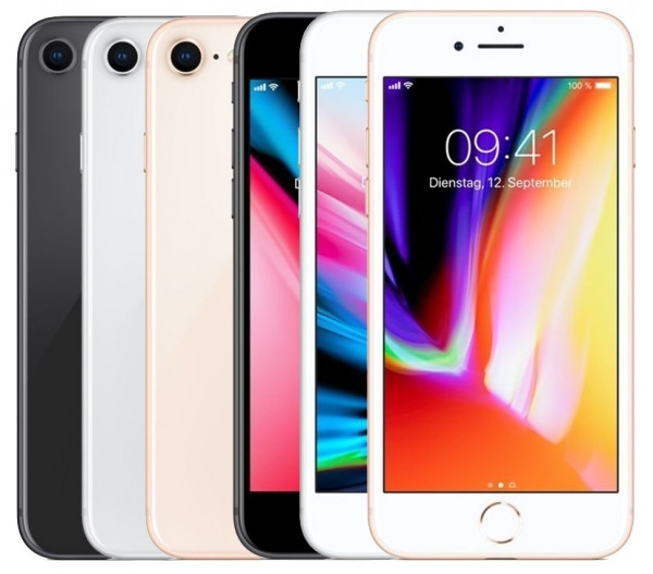 Apple iPhone 8 64GB LTE IOS Smartphone ohne Simlock 4,7 Zoll Display 12MP Kamera
