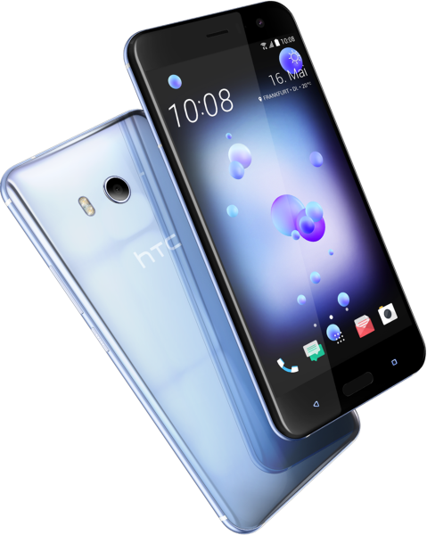"HTC U11 silber Dual Sim 64GB LTE Android Smartphone ohne Simlock 5,5"" 12MPX"