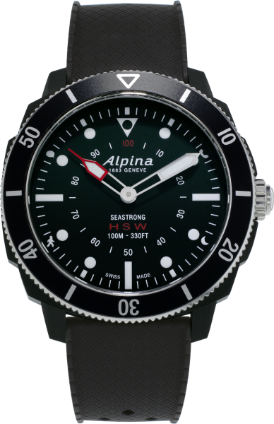 Alpina Seastrong Horological Smartwatch schwarz