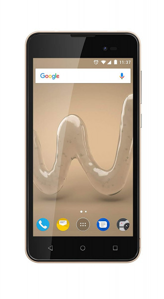 """Wiko Sunny 2 Plus DualSim gold 8GB 3G Android Smarphone 5"""" Display 5 Megapixel"""