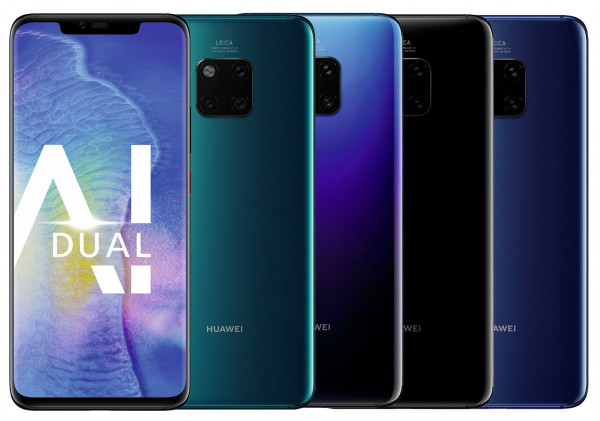 "Huawei Mate 20 Pro DualSim 128GB LTE Android Smartphone 6,3"" OLED 40 Megapixel"