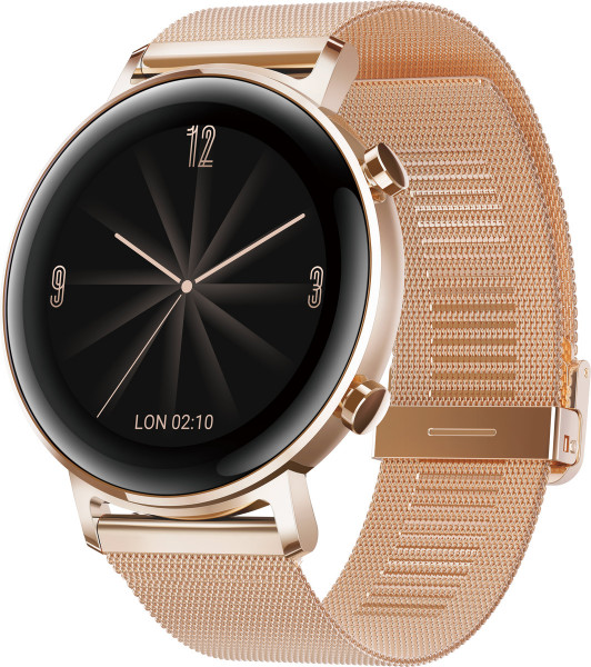Huawei Watch GT 2 Diana B19B Elegant Refined Gold Android iOS Smartwatch Fitness