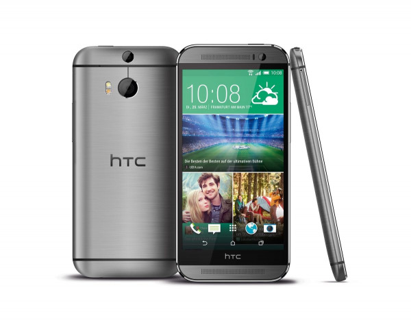 HTC One M8s grau 16GB LTE Android Smartphone 5 Zoll ohne Simlock 13 Megapixel