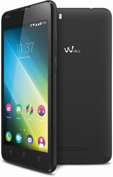 Wiko Lenny 2 schwarz 5 Zoll Dual Sim Android Smartphone ohne Simlock 8GB 5MPX