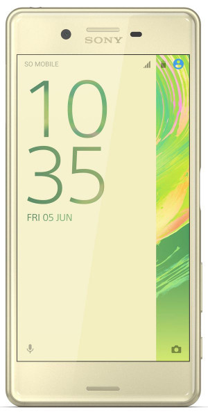"Sony Xperia X Performance lime 32GB 23MPX 5"" Android Smartphone ohne Simlock"