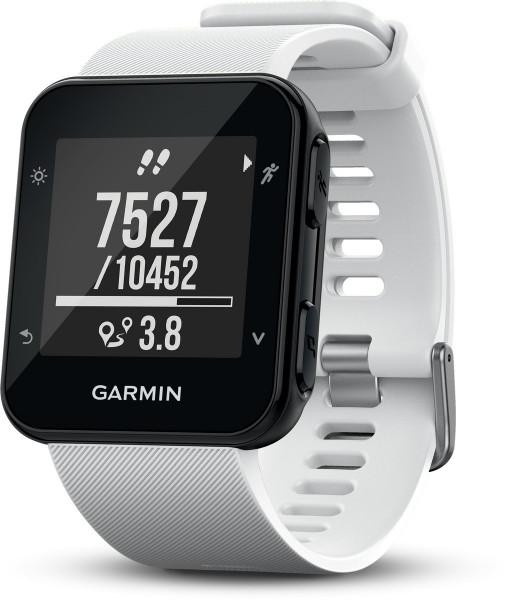 Garmin Forerunner 35 weiß Smartwatch Fitness Tracker Schlaf Tracker GPS