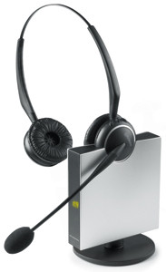 JABRA GN9120 FlexBoom NC binaural Business DECT Headset kabellos 150m Reichweite