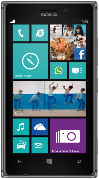 Nokia Lumia 925 schwarz 16GB Windows Smartphone ohne Simlock 4,5 Zoll 8,7MPX