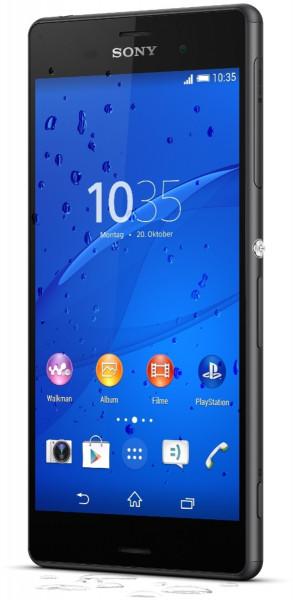 """Sony Xperia Z3 16GB schwarz Android Smartphone 5,2"""" Display ohne Simlock 20,7 MP"""