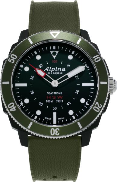 Alpina Seastrong Horological Smartwatch Grün