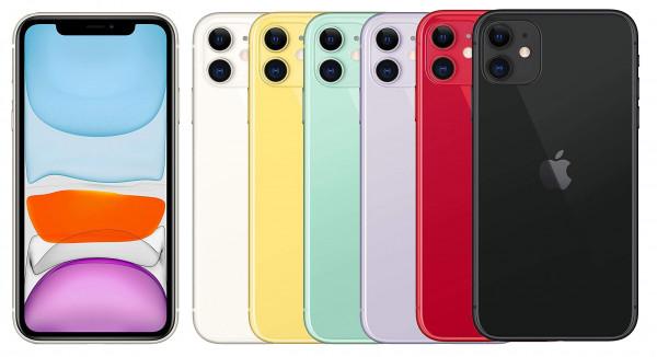 """Apple iPhone 11 64GB LTE iOS Smartphone 6,1"""" Retina Display 12 Megapixel eSim"""