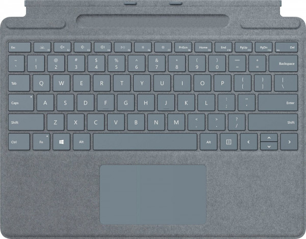 Microsoft Surface Pro X Signature Keyboard im Slim Pen Eisblau
