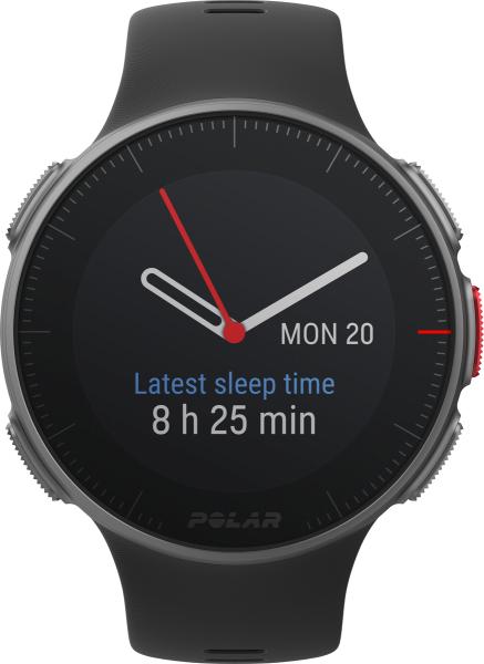 Polar VANTAGE V Black HR Android iOS Smartwatch GPS Fitness Sleeping Tracker