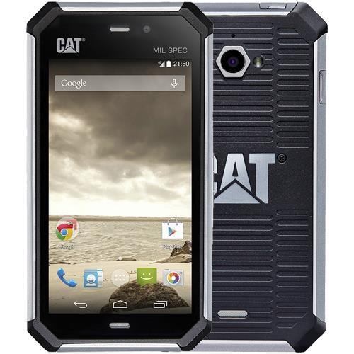 "CAT S50 Slate 8 GB schwarz LTE Outdoor Smartphone 4,7"" Farbdisplay 8 MPX Kamera"