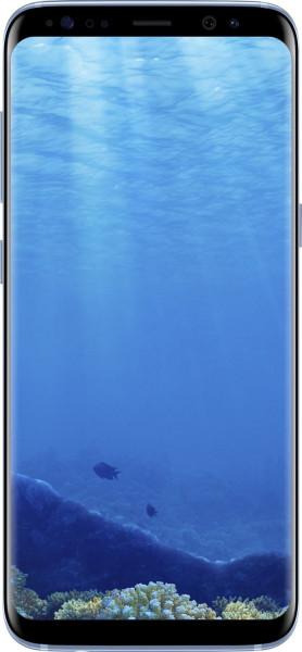"Samsung Galaxy S8 blau 64GB LTE Android Smartphone ohne Simlock 5,8"" Display"