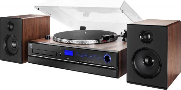Dual NR 100 X Stereo Komplettanlage DAB FM-Tuner 10W