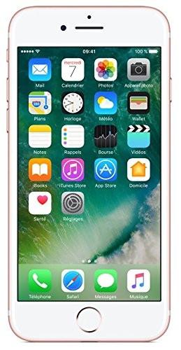 Apple iPhone 7 256 GB Rosé Gold IOS 10 LTE 4G Smartphone ohne Vertrag