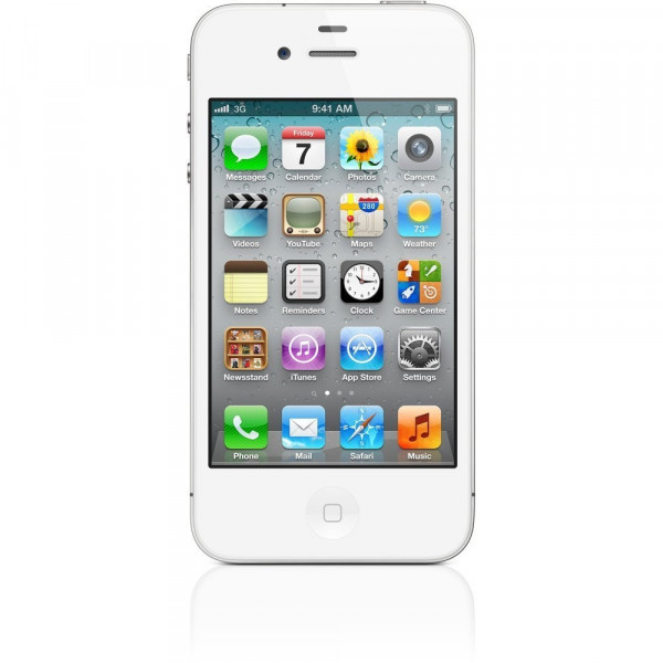 "Apple iPhone 4S 32GB weiß IOS Smartphone 3,5"" Display ohne Simlock 8 Megapixel"