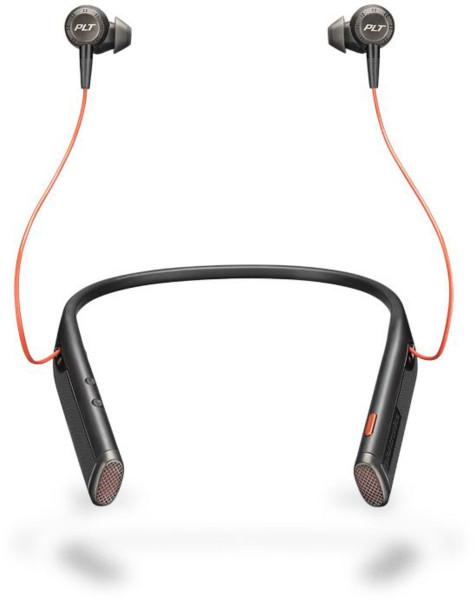 Plantronics Bluetooth Headset Voyager 6200 UC Schwarz USB 16Std. Laufzeit