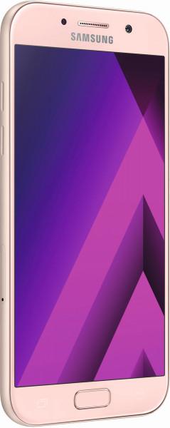 Samsung Galaxy A5 2017 rosa 5,2 Zoll Android Smartphone ohne Simlock LTE 32GB