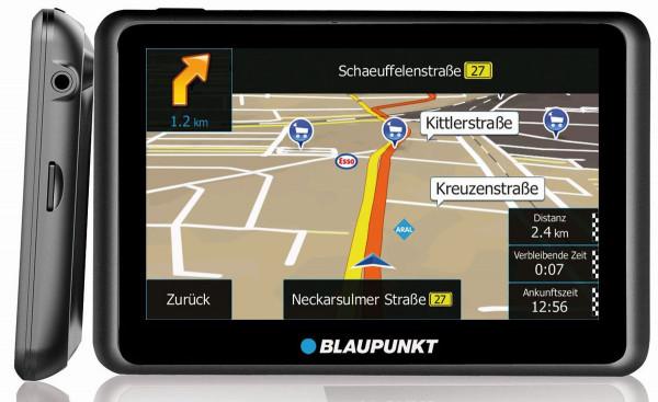 """Blaupunkt Travelpilot 65 Active CE LMU PKW Navigation Zentraleuropa 6,2"""" TMC BT"""