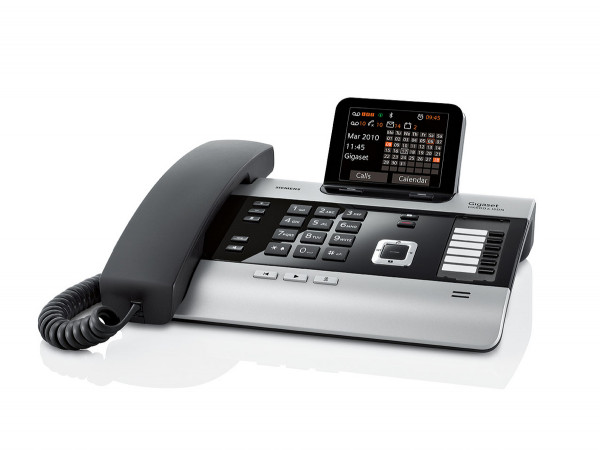 Gigaset DX600A titanium schnurgebundenes Festnetztelefon Anrufbeantworter