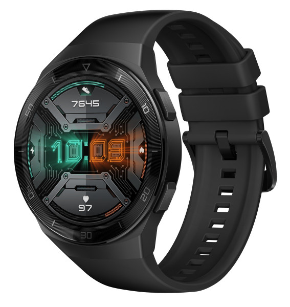 Huawei Watch GT 2e Sport Hector B19S schwarz Android iOS Smartwatch GPS Fitness