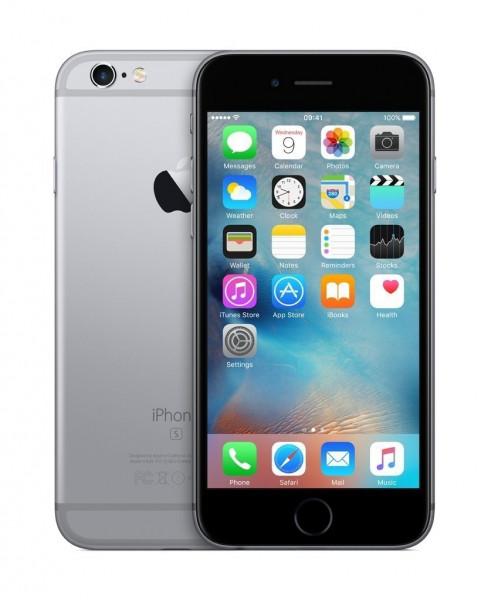 "Apple iPhone 6s 16GB spacegrau 4,7"" Display iOS LTE Smartphone ohne Simlock"